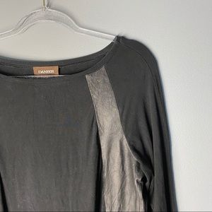Danier Leather Long Sleeve Top